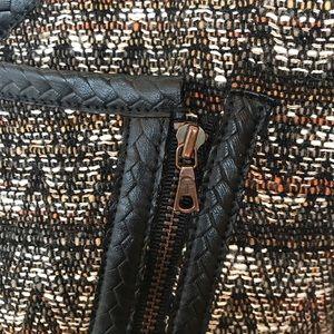 Trina Turk Jackets & Coats - Trina Turk black, brown, orange chevron coat